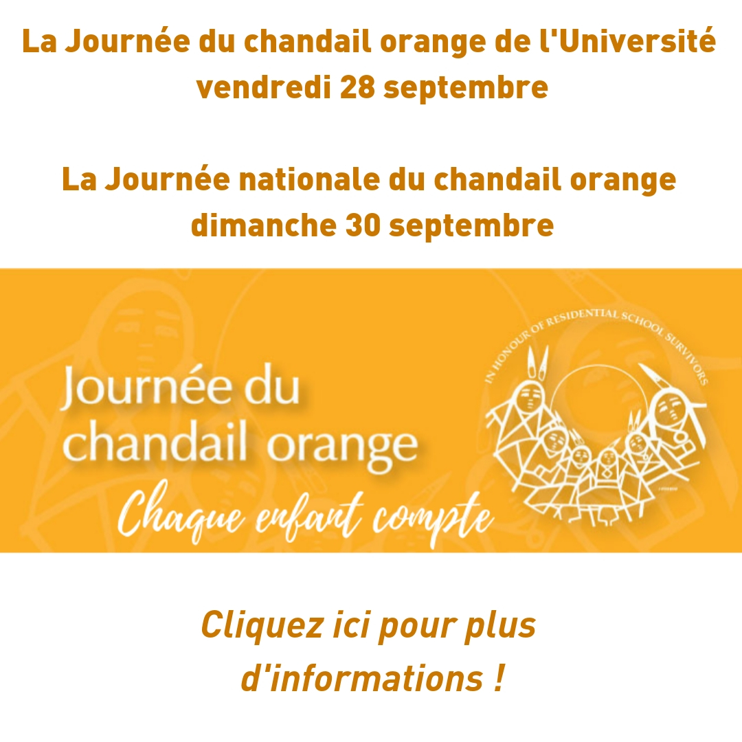 Journée chandail orange
