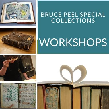 bruce peel special collections workshops