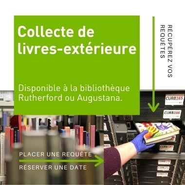la collecte de livres exterieure
