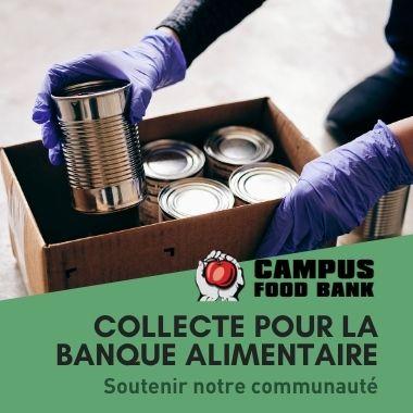 collecte pour la banque alimentaire